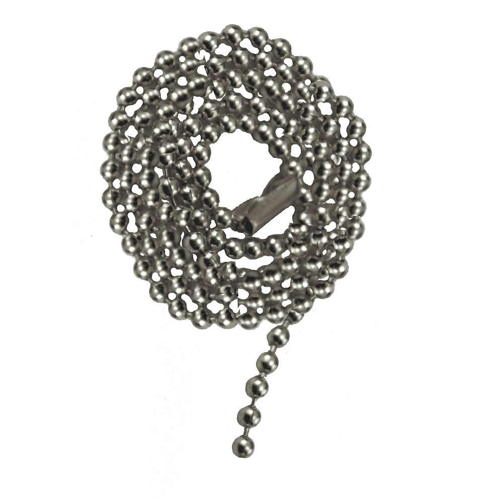 """Atron Chaîne de chrome Perlée avec Connecteur - 36"""" (91.4 cm)"""