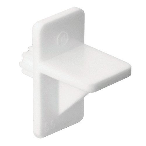 White Plastic Shelf Pin - 1/4 in.