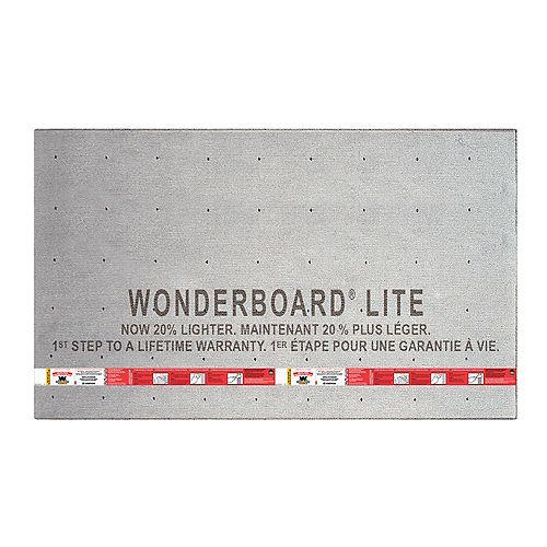 "Custom Building Products WonderBoard Backerboard 7/16""x36""x60"""
