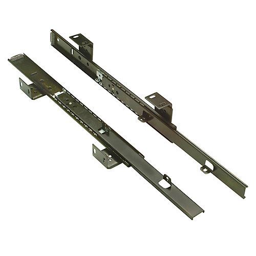 "Accuride 14"" (350mm) 3/4 Extension Adjustable Keyboard Slide"