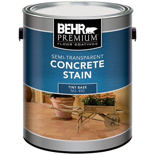 Semi Transparent Concrete Stain, 3.73L