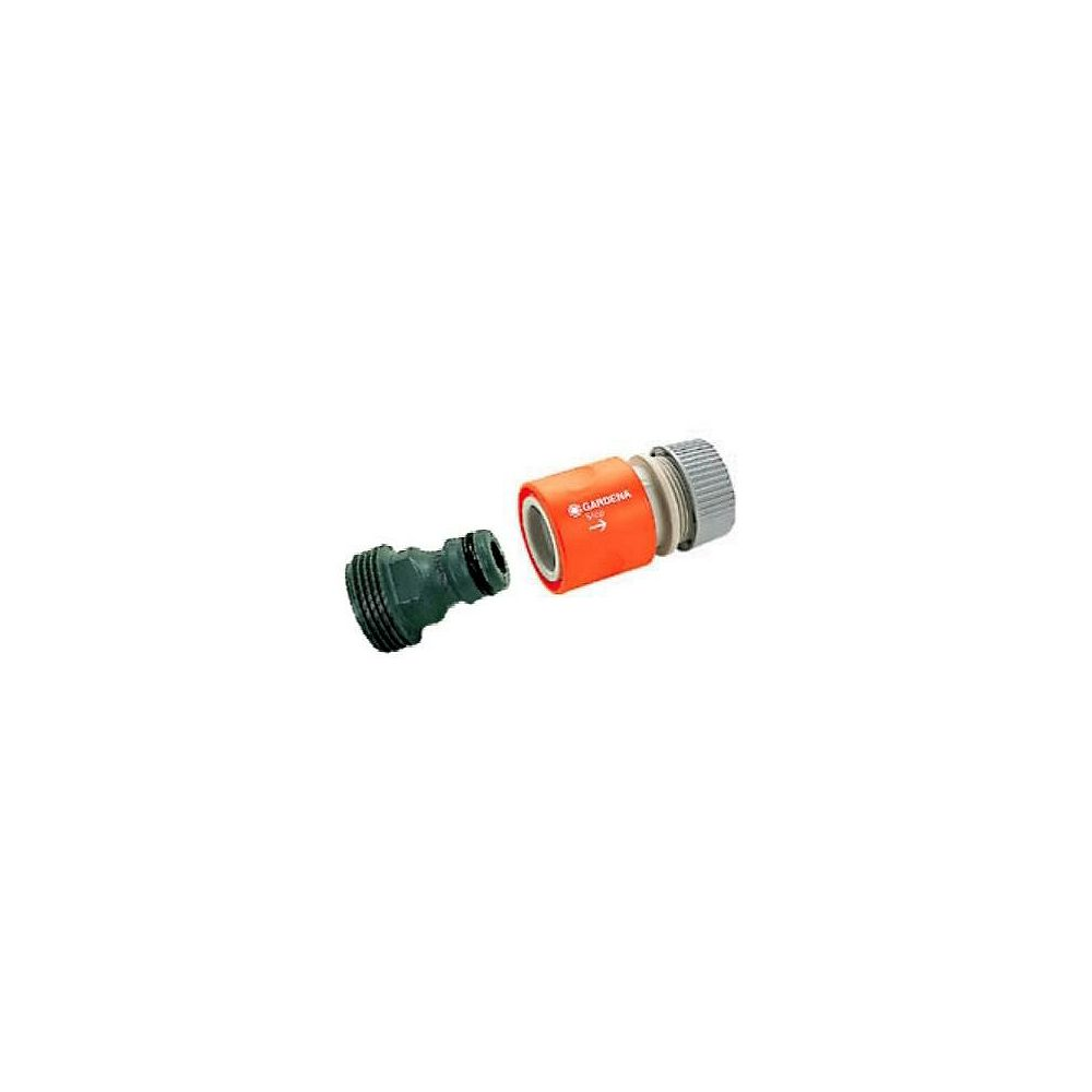 GARDENA Classic 5/8-inch Male End Repairer Connector Set