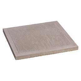 Dalle de patio a motifs de losange 24x24 gris