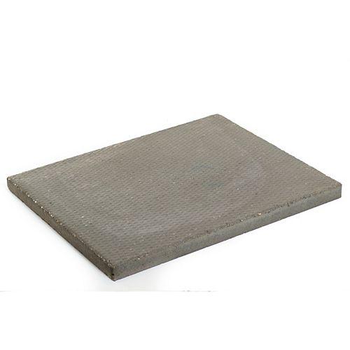 Dalle de patio a motifs de losange 24x30 gris