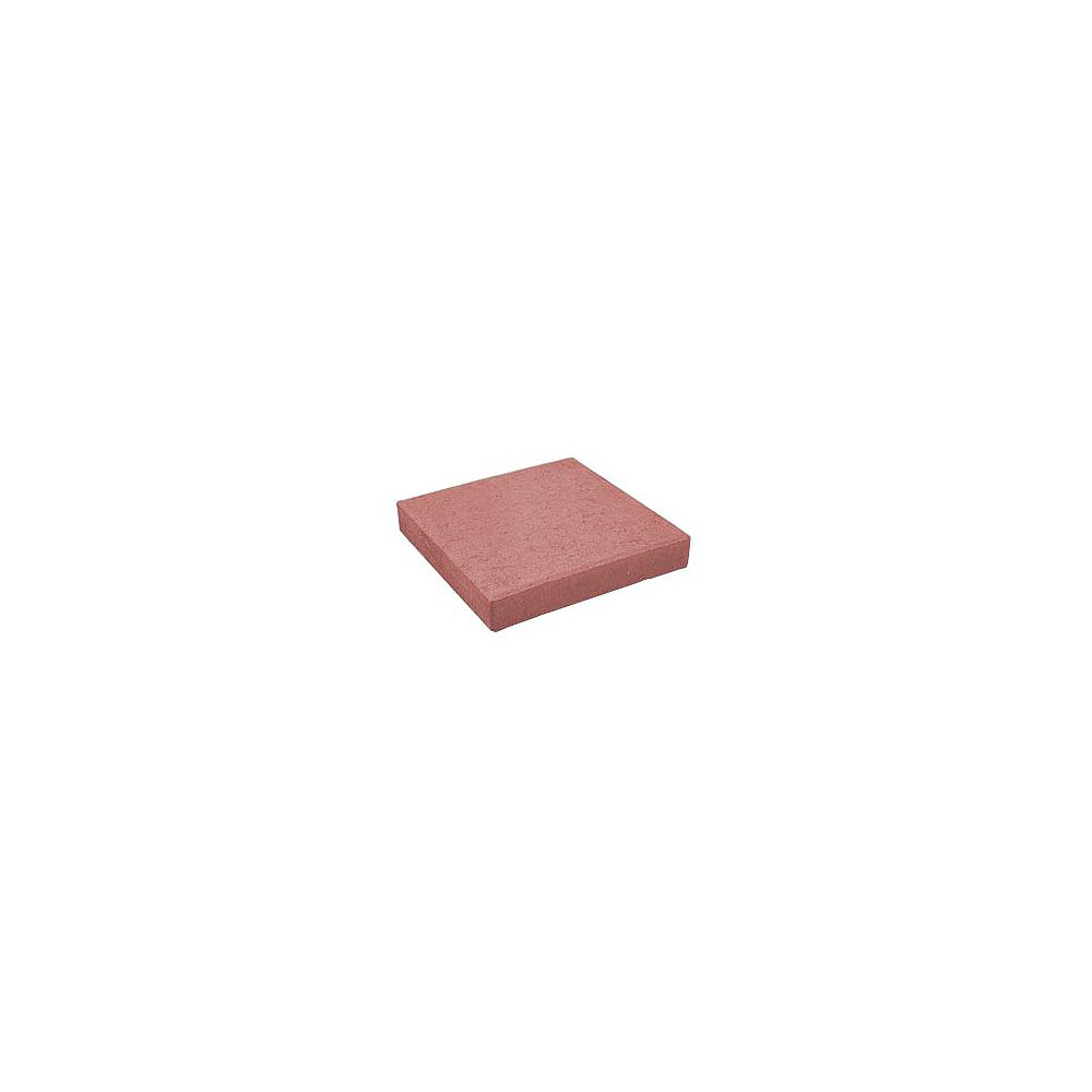 Oldcastle 12 inch Square Penny Paver Red