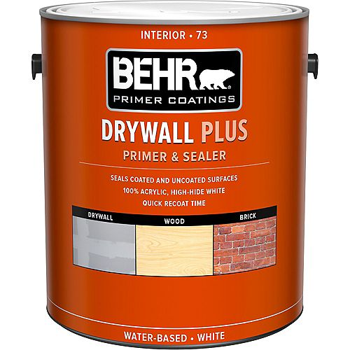 Behr Premium Plus Drywall Plus Interior Primer & Sealer 73, 3.79L