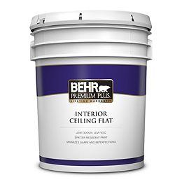 Interior Ceiling Paint - Ultra Pure White, 18.9L