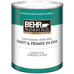 Interior Semi-Gloss Enamel Paint - Ultra Pure White, 946 ML