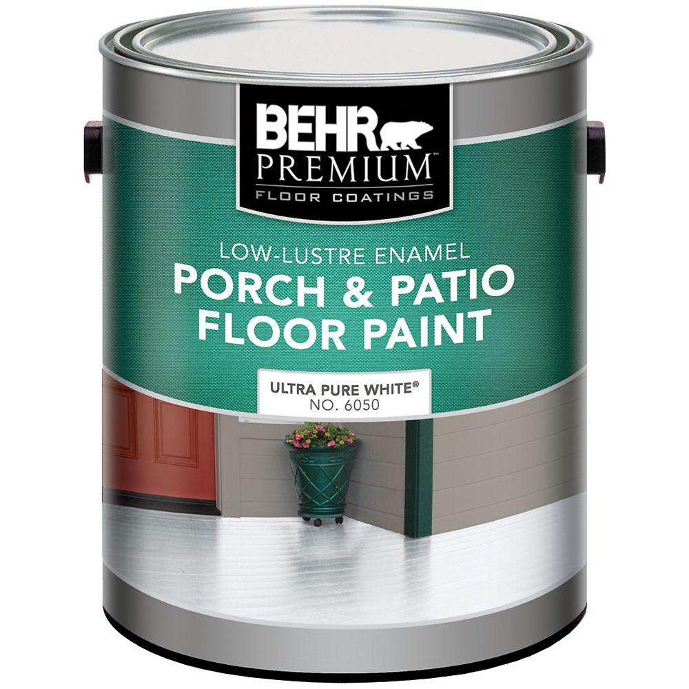 Behr Premium Porch/Floor L.Luster White 3.79l
