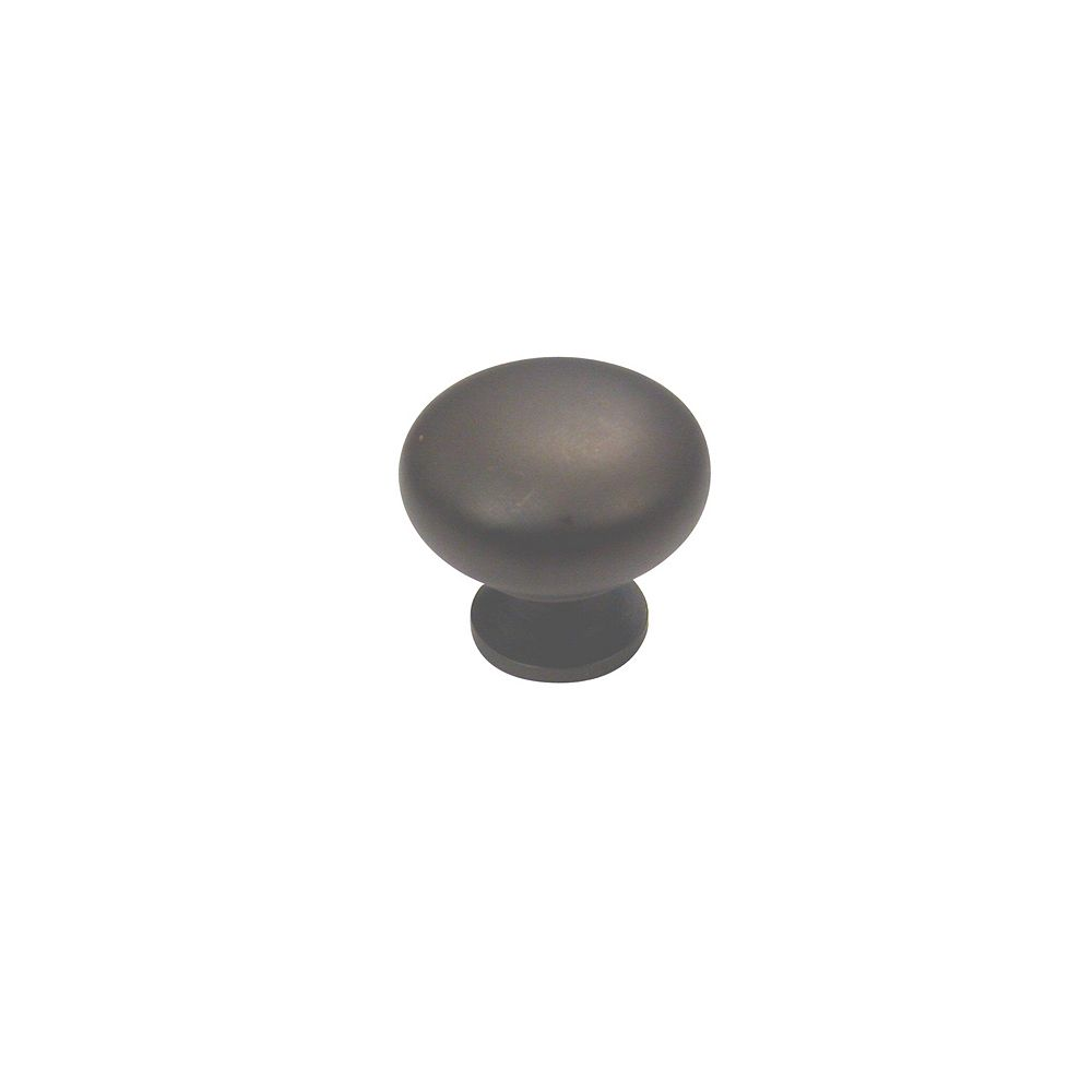 Richelieu Varennes Collection 1 1/4 in (32 mm) Oil-Rubbed Bronze Traditional Cabinet Knob