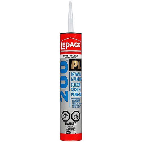 LePage LePage PL200 Drywall Construction Adhesive, 825 ml