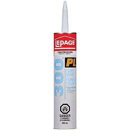 LePage PL 300 Foamboard Adhesive, 295 ml