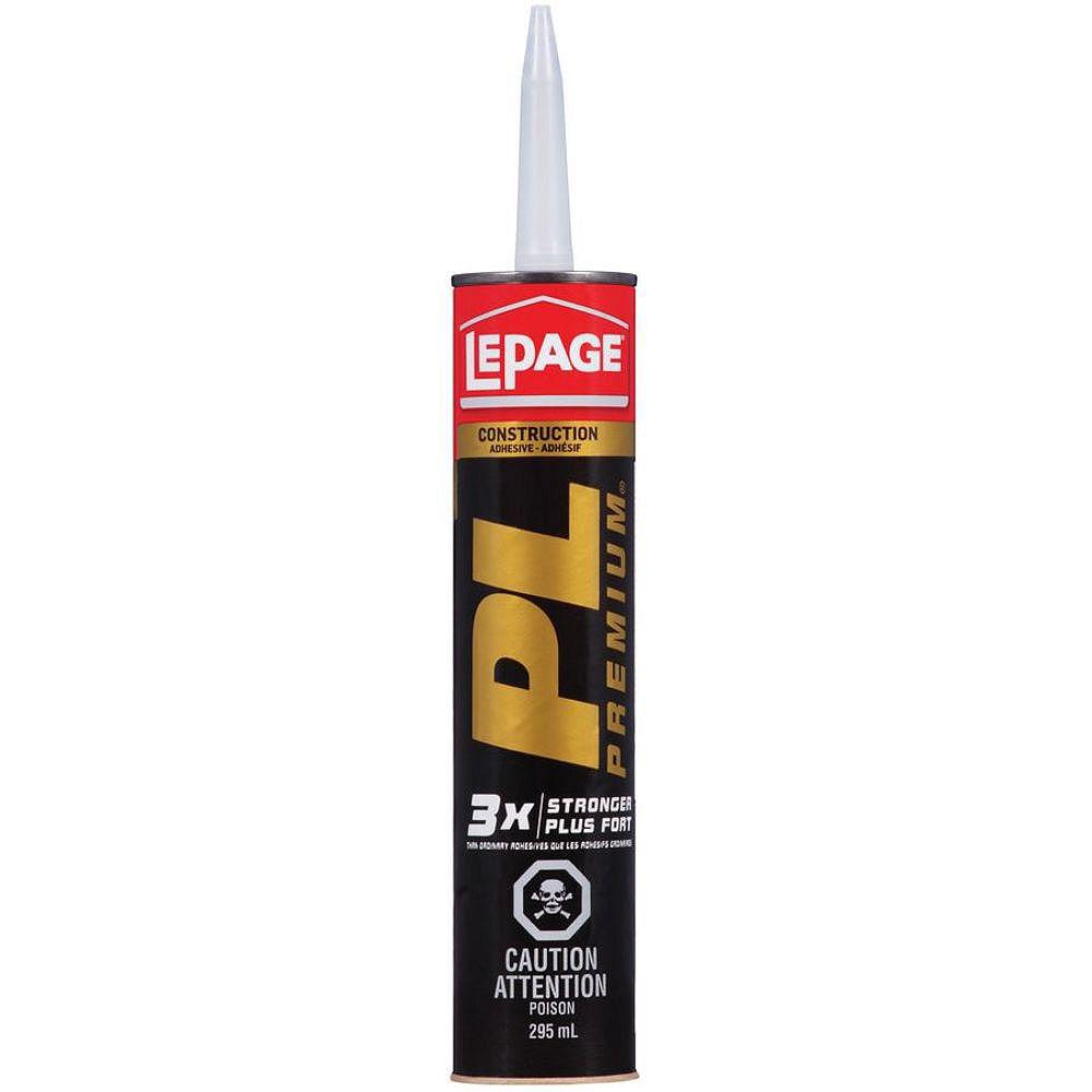 LePage PL Premium Polyurethane Construction Adhesive, 295 ml 1403221