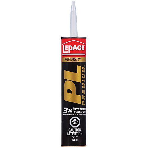 Colle de construction PL Premium 295mL en polyuréthane