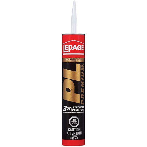 PL Premium 825mL Construction Adhesive