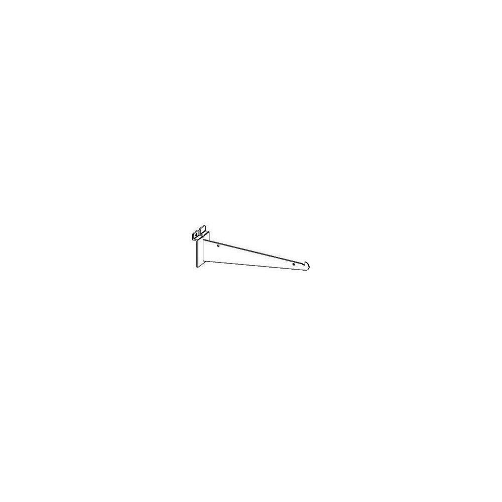 Goodfellow Slotwall Accessory #2810-8C Chrome 8 Inch Shelf Bracket