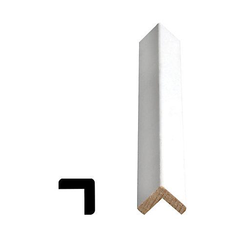 Coin extérieur jointé et apprêté, en pin - 1 x 1 (Prix par pied)