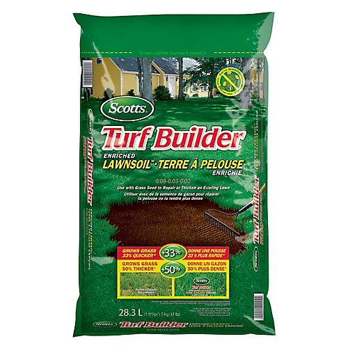 Turf Builder Enriched Lawn Soil - 28.3L