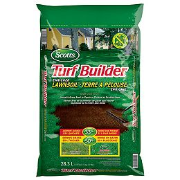 Turf Builder terre à pelouse enrichie - 28.3L