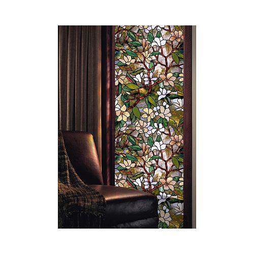 Artscape Film décoratif pour fenêtre de 61 cm x 91 cm Magnolia