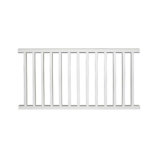 67.75 Inch x 36 Inch Pre-Assembled Composites Classic Railings (white)