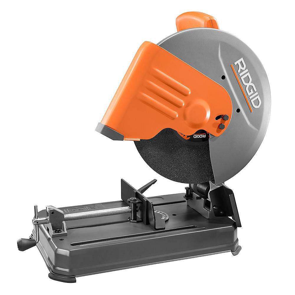 RIDGID 14-inch 15 amp Abrasive Saw