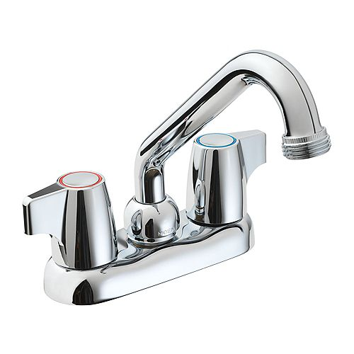Manor 2-Handle Laundry Faucet in Chrome