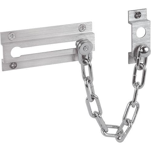 Satin Nickel Chain Door Lock