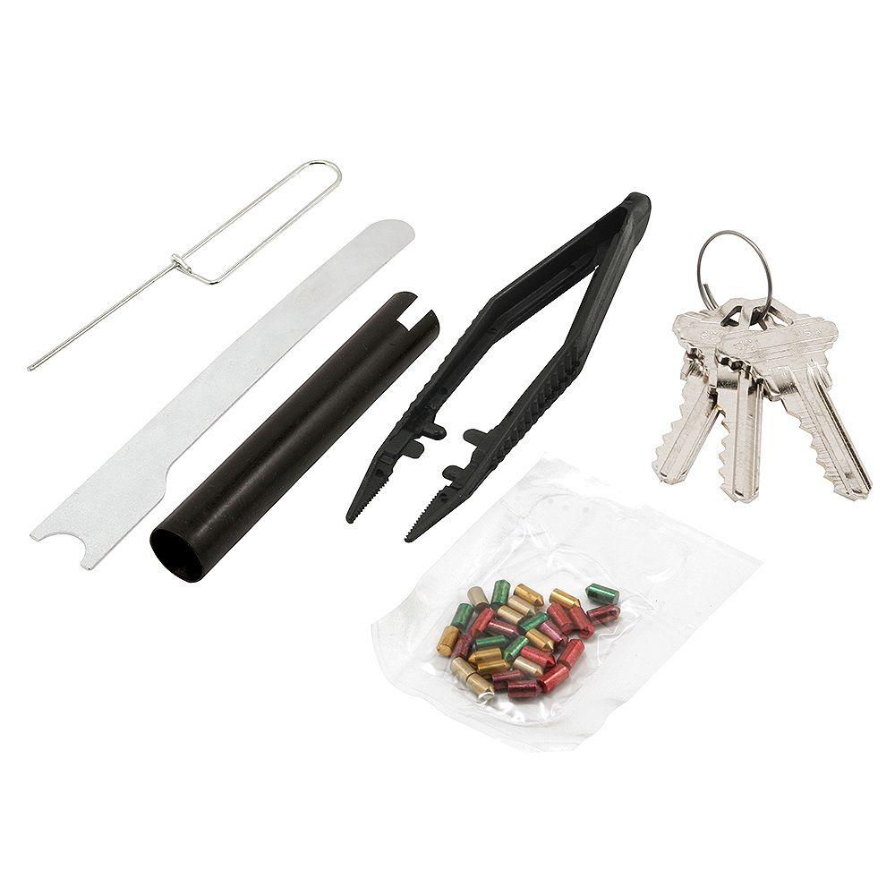 """Prime-Line Re-Key A Lock Kit, Schlage Type """"C"""", 5-Pin Tumbler Sets w/Pre-cut Keys"""