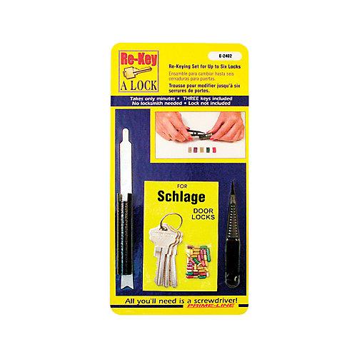 Kit Schlage de remplacement de serrure