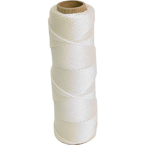 285 Ft. Mason's Line - White Twisted Nylon