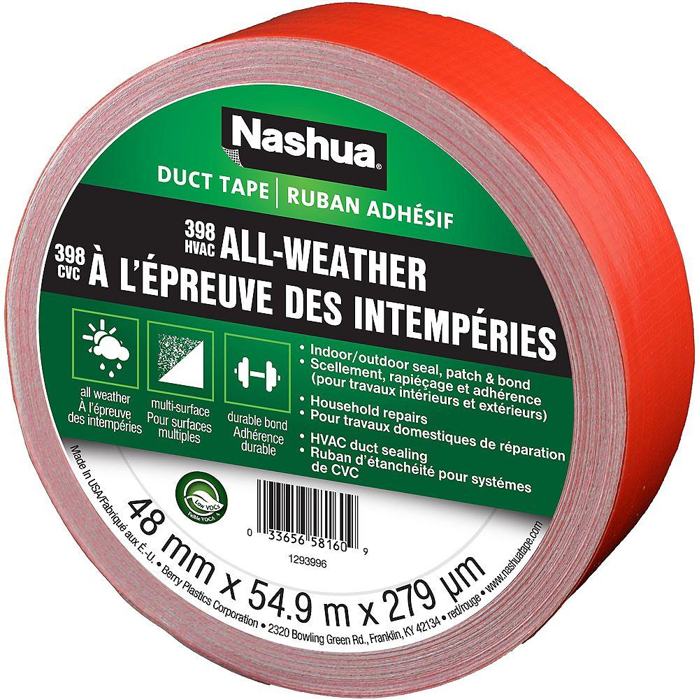 Nashua Tape 48mm x 55m 398 CVC À L'Epreuve Des Intempéries
