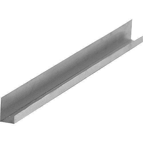 D400 Drywall J Metal Trim 1/2 inch  4411Bx7 ft.