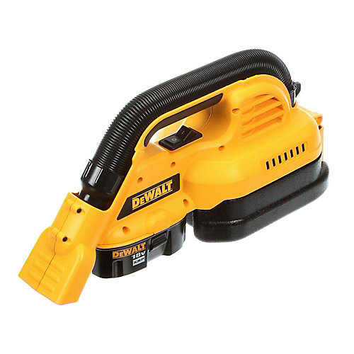 18V Cordless 1/2 Gallon Portable Wet/Dry Vac