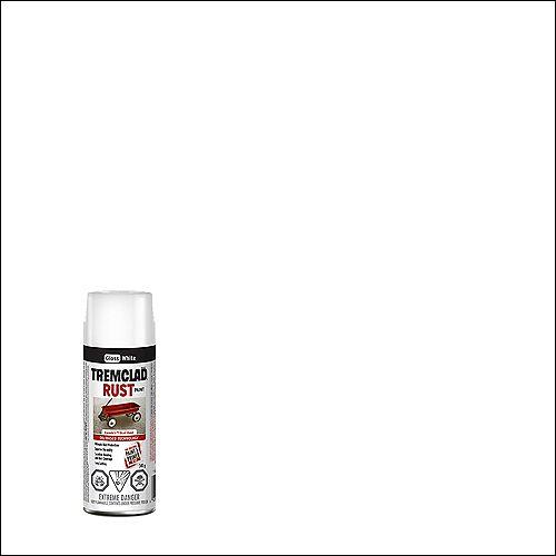 Oil-Based Rust Paint In Gloss White, 340 G Aerosol Spray Paint