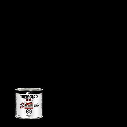 Peinture Antirouille À Base D'Huile En Noir Mat - 237 mL