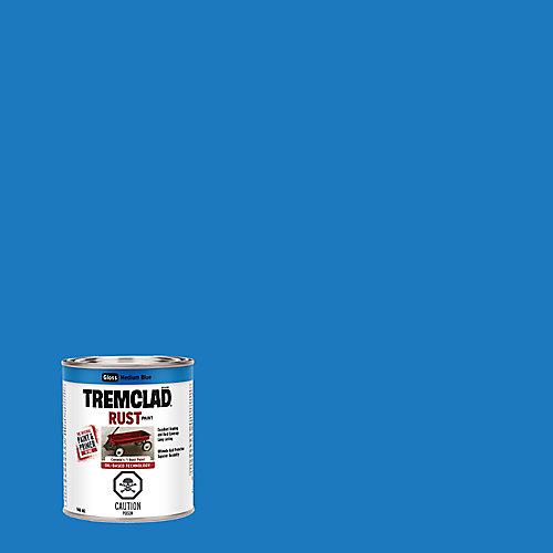 Peinture Antirouille À Base D'Huile En Bleu Moyen Lustré - 946 mL