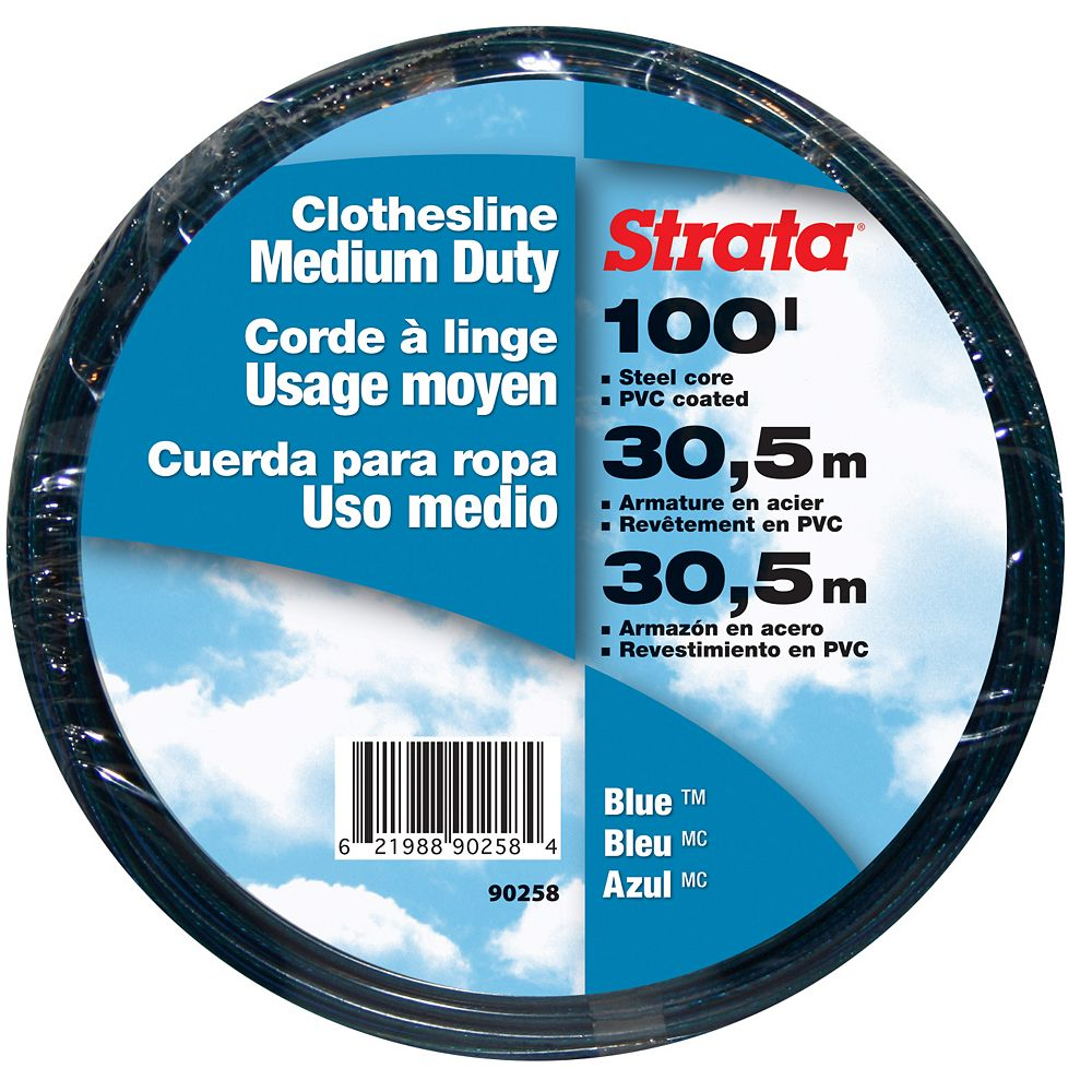 STRATA 100 ft. Clothesline in Blue