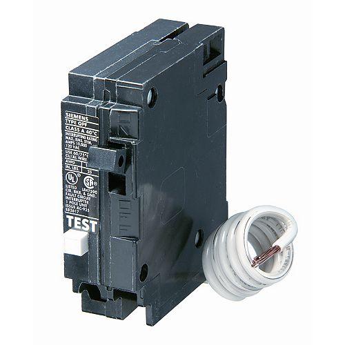 20A 1 pôle 120V Siemens de type Q DDFT disjoncteur