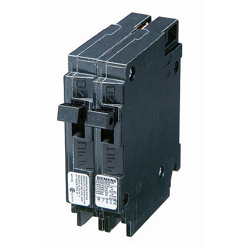 15A 120V 1 Pole Double Siemens type Q disjoncteur
