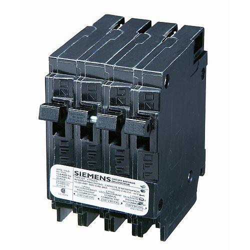 15/30A 2 pôles 120/240V Quad Siemens type Q disjoncteur