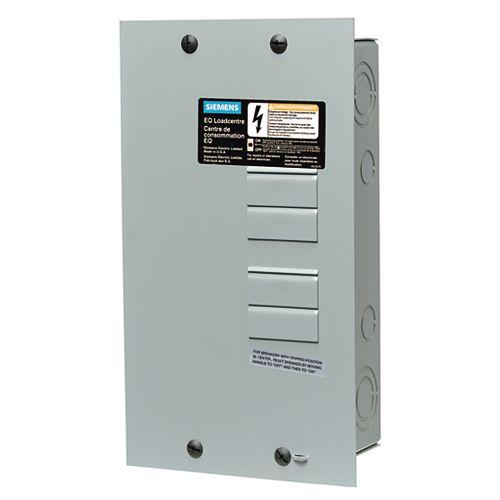 4/8 Circuit 100A 120/240V Siemens Tableau de distribution