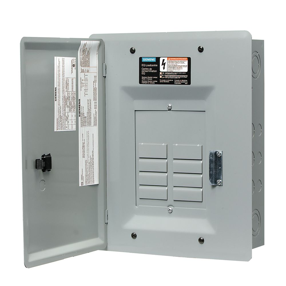 Siemens 8/16 Circuit 100A 120/240V Centre de charge