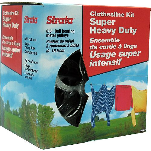 Heavy Duty 150 ft. Clothesline Kit