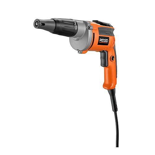 Heavy-Duty 6.5 Amp Corded VSR Drywall Screwdriver