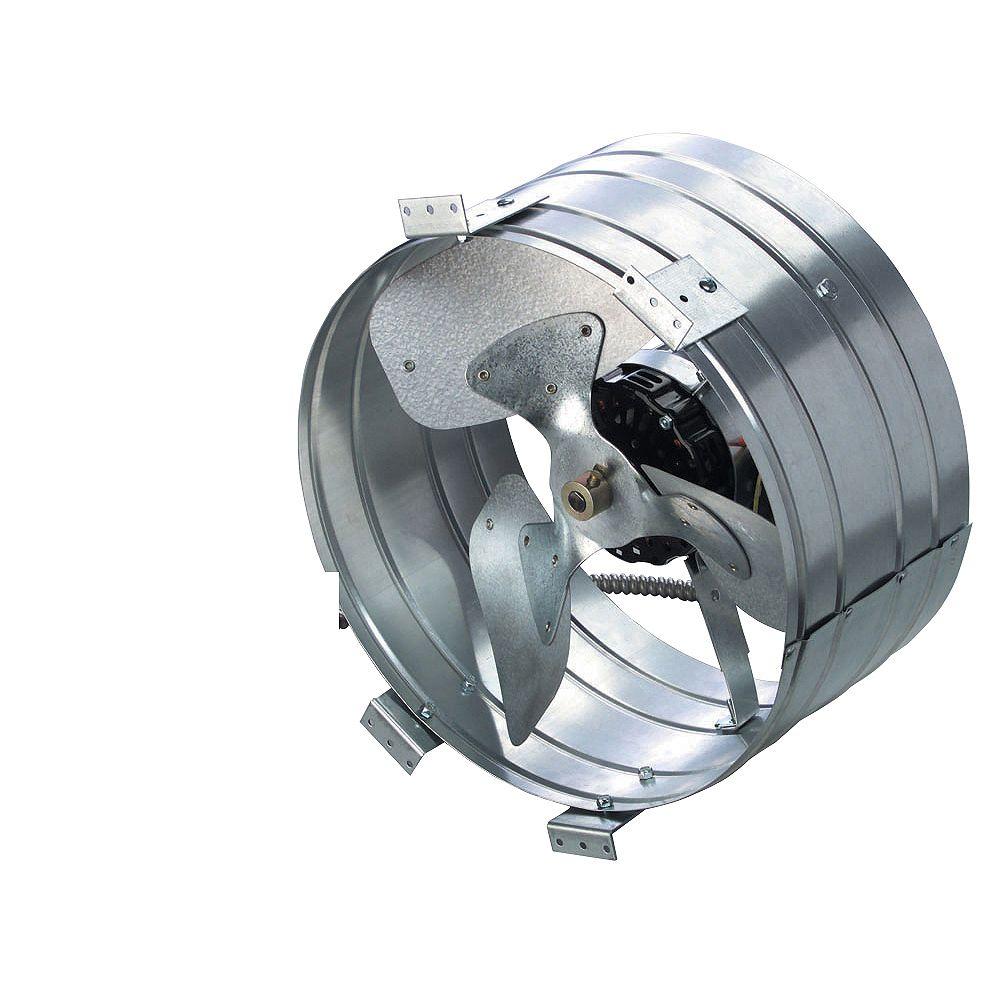 GAF Master Flow 1540 CFM Power Vent Gable Mount