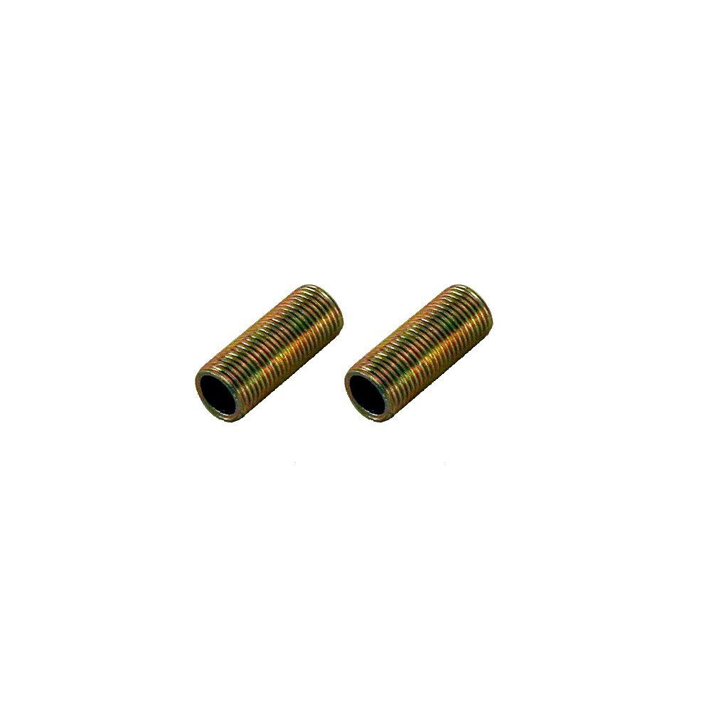 Atron Nipples - 1 Inch (2.5 cm) 1/8 IPS (2-Pack)