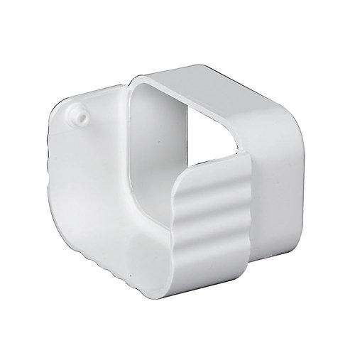 Déflecteurs traditionnels vinyle blanc