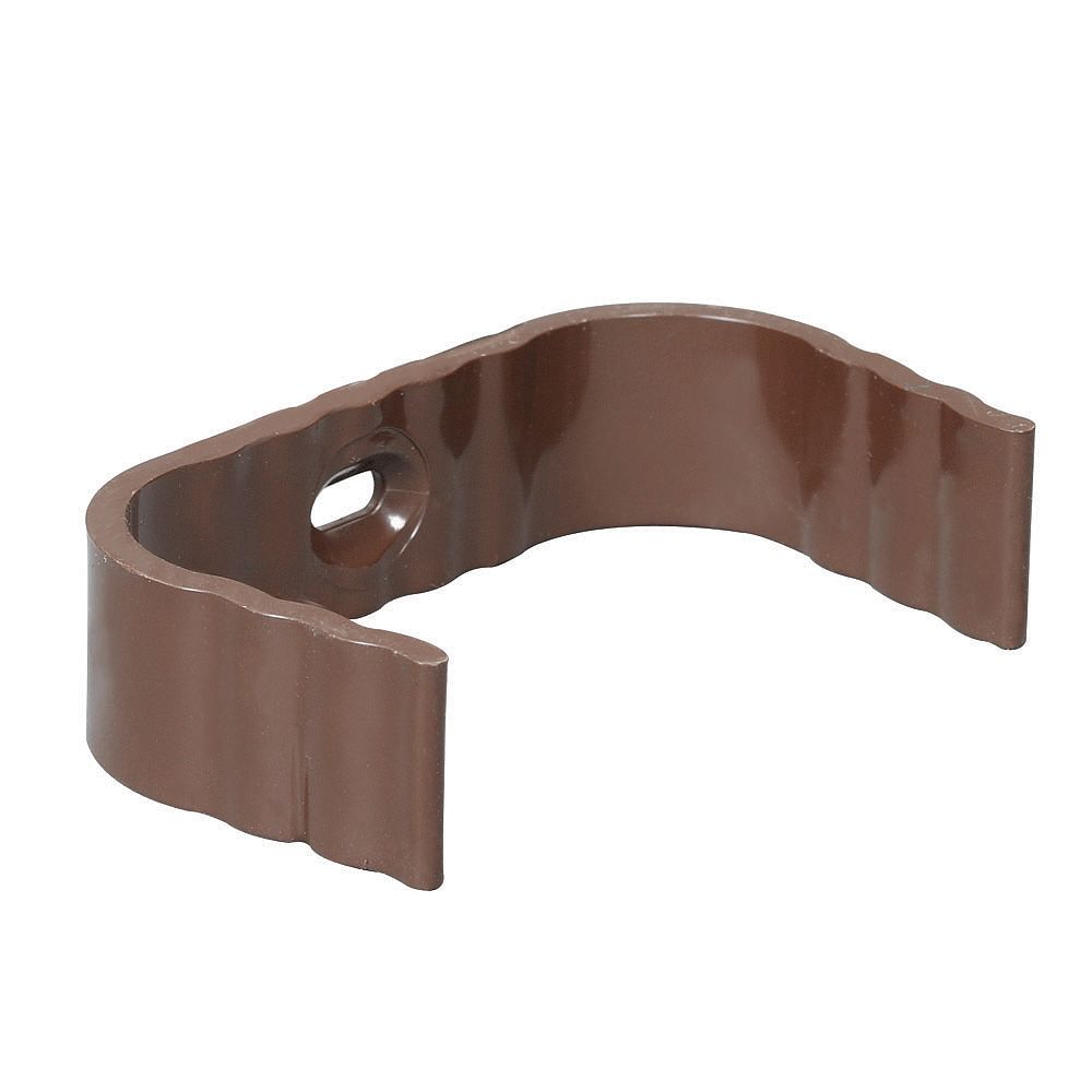 Euramax Canada Clips Traditional Brown Vinyl