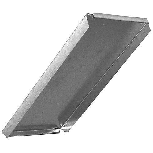 8x16 Inch Duct Cap Rectangular